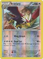 Pokemon TCG Braviary 130/162 XY Breakthrough Rare REVERSE HOLO NM/M