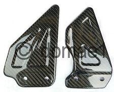 Suzuki GSX-R 600 750 1000 carbon fiber heel guards 00-04 plates Y K1 K2 K3 K4