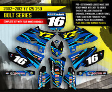 2005 2006 2007 YZ 125 250 GRAPHICS KIT YAMAHA YZ125 YZ250 DECALS STICKERS