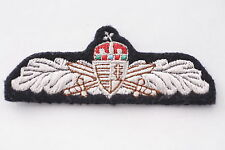Hungary Hungarian Republic Unknown Wing Patch Badge Crown Rare post-Socialist