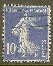 "FRANCE TIMBRE STAMP N°279 ""TYPE SEMEUSE FOND PLEIN, 10 C""OBLITERE TB"