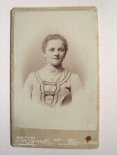 Ried Innkreis - 1903 - Frau im Kleid / CDV