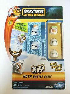 Angry Birds Star Wars Jenga Hoth Battle Game Hasbro Gaming Rovio Ages 8+