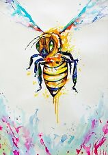 """Marc Allante Water Colour Fabric poster 20"""" x 13"""" Decor 03"""