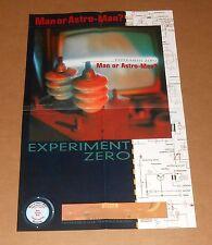 Man or Astro-Man? Experiment Zero Poster Original Promo 14x22