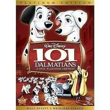 101 DALMATIONS 2 DISC PLATINUM EDITION GENUINE R2 DVD WALT DISNEY