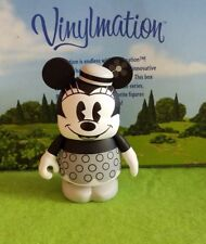 "Disney Vinylmation 3"" Park Set 1 D23 Minnie Mouse Black and White"