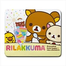 Rilakkuma Bear Mousepad Mouse Mat Pad Sanrio Cute Kawaii Japan kitty cute gift