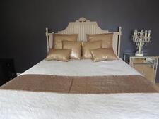 Bedroom Bling Exquisite Champagne Gold Sequins Bed Runner 220x40 Queen/Double