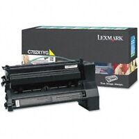 Genuine Lexmark C782X1YG Yellow Extra High Yield Return Program Toner Cartridge