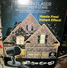 Laser Lightscape Red-Green Twinkle Light Projector