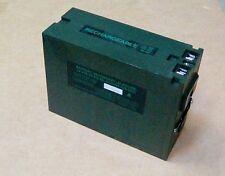 A brand new Clansman PRC alkaline 5.0 AH battery, NSN 6140-99-620-8057