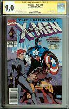 Uncanny X-Men #268 Signed Chris Claremont CGC 9.0