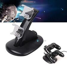 Charging Dock Dual USB Stand Station For Playstation PS4 DUALSHOCK Controller MT