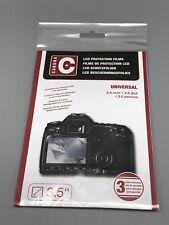 Caruba universele 3,5 inch LCD-scherm protector, in de gesloten verpakking.