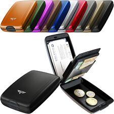 Tru Virtu Kreditkarten-Etui Geldbörse Portemonnaie Aluminium Oyster II RFID