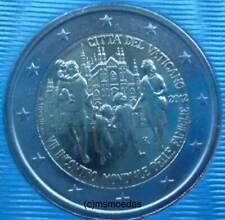 Vaticano 2 euros conmemorativa 2012 mundo reunión familiar euro moneda Commemorative Coin