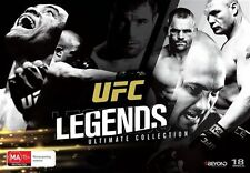 UFC Legends - Ultimate Collection DVD (18 disc set), R4 - New & FREE POST