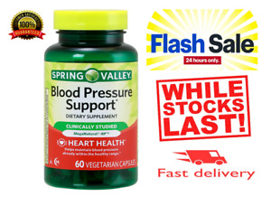 Blood Pressure support Spring Valley Heart Health  60 Vegetarian capsules