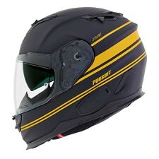 FULL-FACE HELMET FIBER COMPOSITE NEXX X.T1 PURSUIT BLACK MATT-YELLOW SIZE XXL