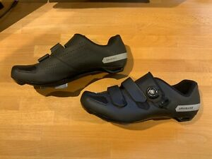 Specialized Comp Road Cycling Shoes Mens Size 46 Black (US Size 12.25)