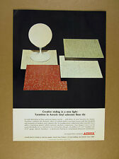 1967 Azrock Tarantino Vinyl Asbestos Floor Tile vintage print Ad