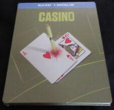 Brand New! Casino Blu-ray + Digital HD + Steelbook - Scorsese DeNiro Pesci Stone