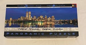 "Buffalo Games 750 Piece Panoramic Puzzle ""New York, New York"""