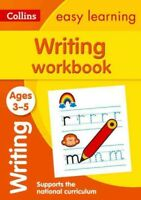 Writing Workbook Ages 3-5, Paperback by Medcalf, Carol, Brand New, Free shipp...