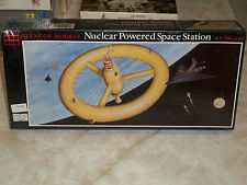 Glencoe Models 1/300 Scale Nuclear Powered Space Station  -  Factory Sealed