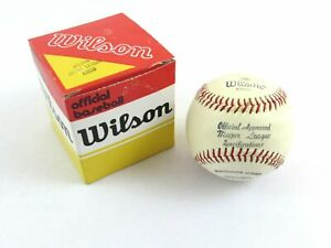 Vintage Wilson A1010 Major League Specification Baseball c1970's