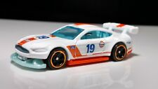 Hot Wheels Muscle CAR Custom '18 Ford Mustang GT GULF GAS PROMO RACING CAR 1/64