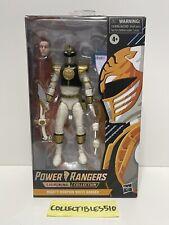 """Power Rangers Lightning Collection 6"""" Mighty Morphin White Ranger Spectrum New"""