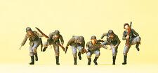 Preiser 16878 Sitting Down Armoured Infantry, German Reich, H0