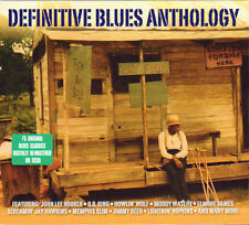 DEFINITIVE BLUES ANTHOLOGY (NEW SEALED 3CD BOX SET)