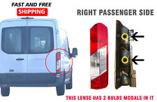 Ford Transit 150 250 350 Taillight Lamp Lens Only Right Passenger 2016 2018