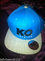 KNOCKOUT CLOTHING cap KNOCK OUT  blue genuine authentic  KO baseball hat NEW