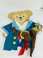 Duffy The Disney Bear Disney Parks Pirate Outfit No Hat 17in