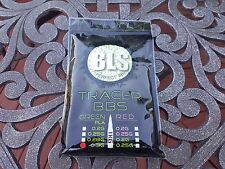 [PLA-TR30-1] BLS Perfect Airsoft .30g BBs BIO Tracer BB 0.3g .3 0.30 6mm 3,333CT