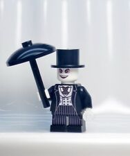 A1237 Lego CUSTOM PRINTED 1989 Tim Burton BATMAN MOVIE PENGUIN MINIFIG CATWOMAN
