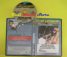 DVD film ISPETTORE CALLAGHAN IL CASO SCORPIO E' TUO Clint eastwood mc lp vhs cd
