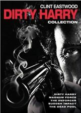 5 Film Collection Dirty Harry DVD New Dead Pool Enforcer Clint Eastwood