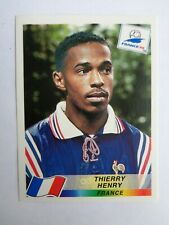 Thierry Henry France # 172 - Panini France 1998 sticker - excellent condition