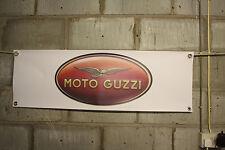 moto guzzi motour guzzi    large pvc  garage banner man cave