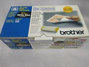 "Genuine Brother LC-D9R Cool Laminator 9"" Refill Roll Film Double Side Laminate"