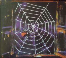 Falso Black Widow Telaraña Decoración Fiesta De Halloween Utilería Horror