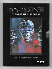 COFFRET 2 DVD / IRON MAIDEN - VISIONS OF THE BEAST (MUSIQUE CONCERT) COMME NEUF