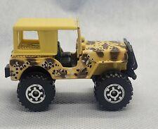 Matchbox Vintage 1981 4x4 Jeep Desert Camo with top