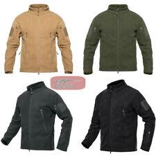 Men's Outdoor Thicken Warm Polar Fleece Tactical Jacket Windproof Outerwear Coat