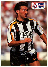 Dean Thomas Notts County #310 Pro Set Football 1991-2 Trade Card (C364)